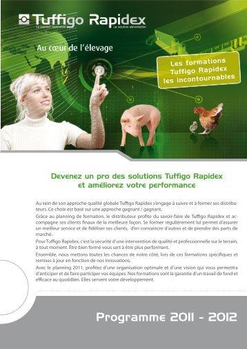 Programme 2011 - 2012 - Tuffigo-rapidex