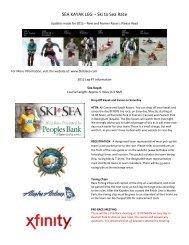SEA KAYAK LEG – Ski to Sea Race