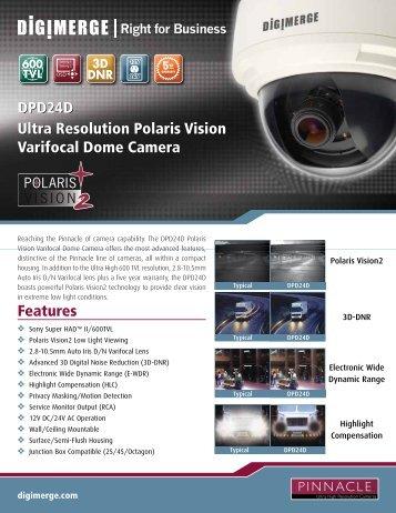 DPD24D Spec Sheet