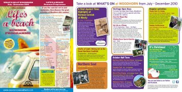 woodhorn - Days Out Leaflets