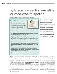 Bydureon: long-acting exenatide for once ... - Practical Diabetes