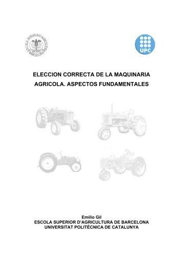 Elección correcta de la maquinaria agrícola