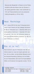 Blei und Trinkwasser - Schlosser Haustechnik - Seite 3