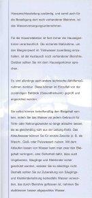 Blei und Trinkwasser - Schlosser Haustechnik - Seite 4
