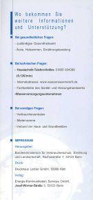 Blei und Trinkwasser - Schlosser Haustechnik - Seite 6