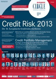 Credit Portfolio Management - Business Circle