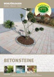 Katalog Beton - Gartenwelt Oppl