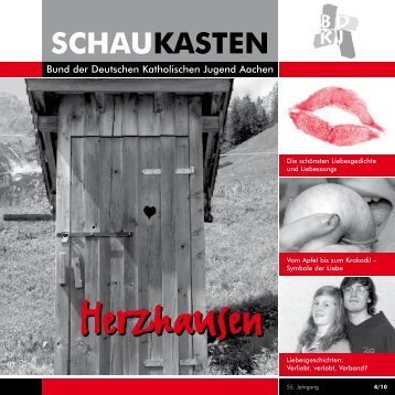 Schaukasten 1-2011: Herzhausen - BDKJ Aachen