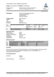 GUTACHTEN zur ABE Nr. 47637 nach §22 StVZO ... - onlineraeder.de