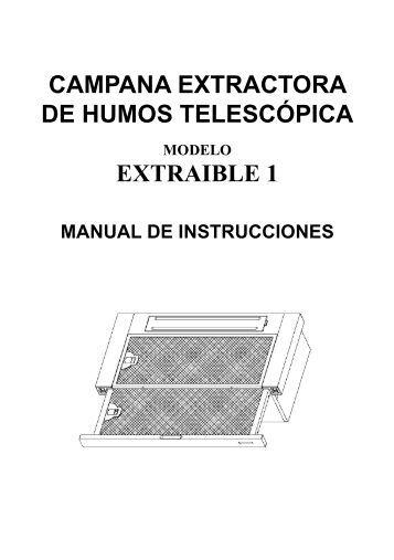 Campana extractora autolimpiable es1052262 for Campana extractora de humos