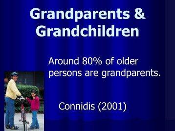 Grandparents & Grandchildren - College of Human Sciences