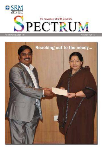 The newspaper of SRM University