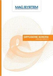 Diffusione sonora.pdf - Mac System S.a.s.