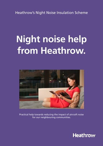 Download the Night Noise Insulation leaflet - Heathrow Airport