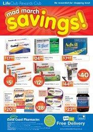 28! $12! $28! $12! - Coral Coast Pharmacies