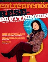 Entreprenör nr 10 2008 - Svenskt Näringsliv