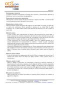 CONTRATTO DI SERVIZIO PER LA FORNITURA DI ... - OKcom S.p.A. - Page 2