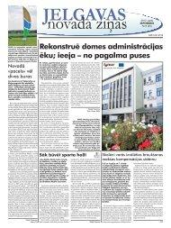 2012. gada septembris Nr.9. - Jelgavas rajona padome
