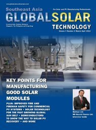 GST Magazine SEA 4.2 Edition - Global Solar Technology