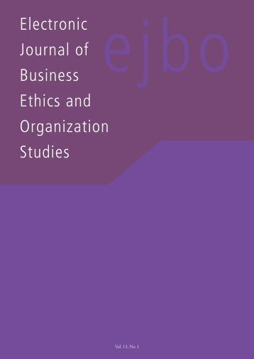 international journal of ethics Publication ethics and publication malpractice statements it is necessary to agree upon standards of expected  the criterion: an international journal in english.