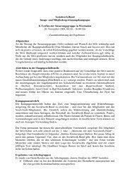 8. Sitzung - beim Sozialwerk der Inneren Verwaltung des Bundes eV