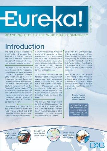 Eureka_Issue1 - Bayern Digital  Radio GmbH