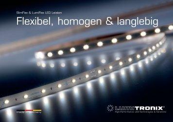 SlimFlex und LumiFlex Prospekt: Unvergleichlich flexibel ... - LEDS.de