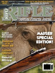 Rifle Magazine Special Edition 2011 - Wolfe Publishing Company