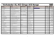 Serviceverksteder Norge 0605.xlsx - Luna Norge AS