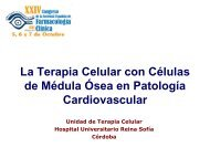 La Terapia Celular con células de médula ósea en patología ...