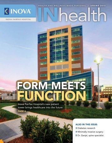 FORM Meets - Inova Health System