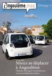 Mieux se déplacer à Angoulême