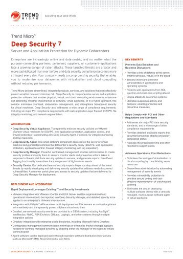 Deep Security 7 - Insight Web Server
