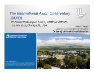 IAXO - 8th Patras Workshop on Axions, WIMPs and WISPs