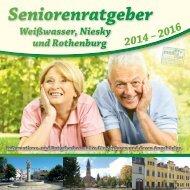 Seniorenratgeber Weißwasser, Niesky und Rothenburg 2014-2016
