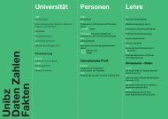 Unibz Daten Zahlen Fakten - Freie Universität Bozen