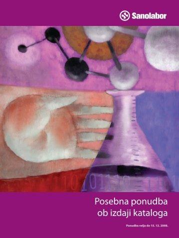 Posebna ponudba ob izdaji kataloga - Sanolabor