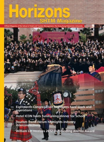 Vol 13 Issue 1, February 2013 - School of Hotel & Tourism ...