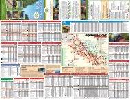 Fahrplanfaltkarte Sommer 2012 - Bayerwald Ticket