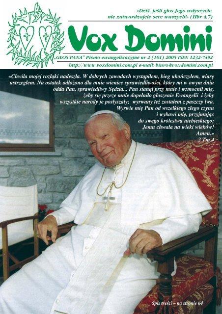 Wersja Pdf Vox Domini