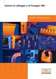 Sistemi di cablaggio e di fissaggio VBS - OBO Bettermann