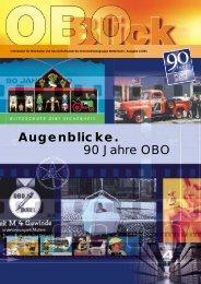 Augenblicke. 90 Jahre OBO - OBO Bettermann