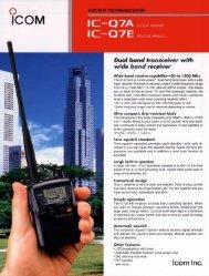 IC-Q7E English Leaflet