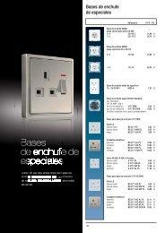 Bases de enchufe de especiales - Jungiberica.net