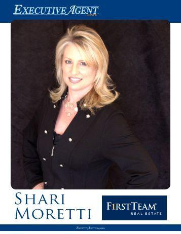Shari Moretti - Executive Agent Magazine