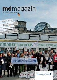 Download der Komplettausgabe - Mehr Demokratie eV