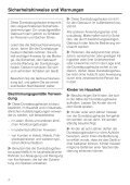 Gebrauchsanweisung - Miele - Seite 4