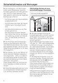 Gebrauchsanweisung - Miele - Seite 6