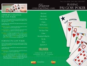 Pai Gow Poker - Fallsview Casino Resort