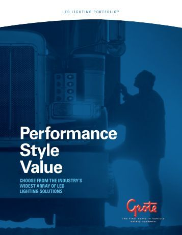 Performance Style Value - Grote Industries